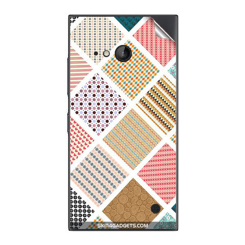 Varied Pattern For NOKIA LUMIA 730  (ONLY BACK) Skin