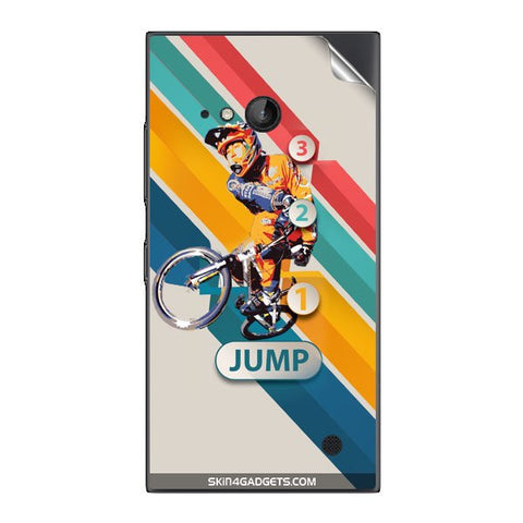 1 2 3 Jump For NOKIA LUMIA 730  (ONLY BACK) Skin