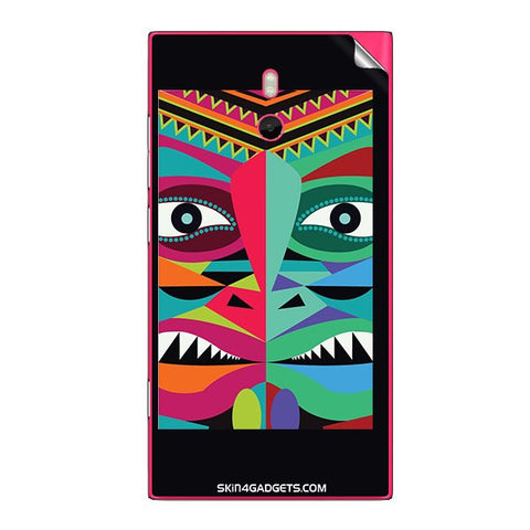 Tribal Face For NOKIA LUMIA 800 Skin