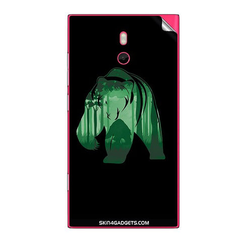 Bear For NOKIA LUMIA 800 Skin