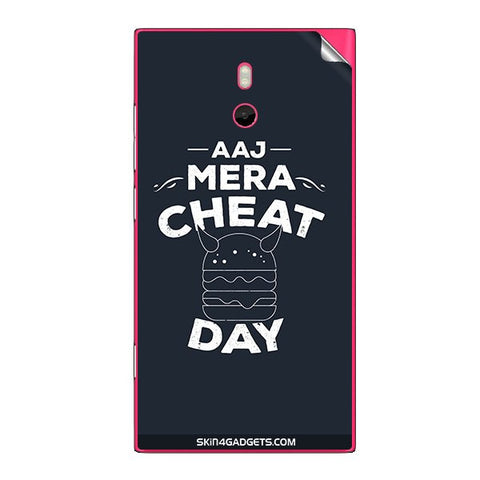 Aaj Mera Cheat Day For NOKIA LUMIA 800 Skin