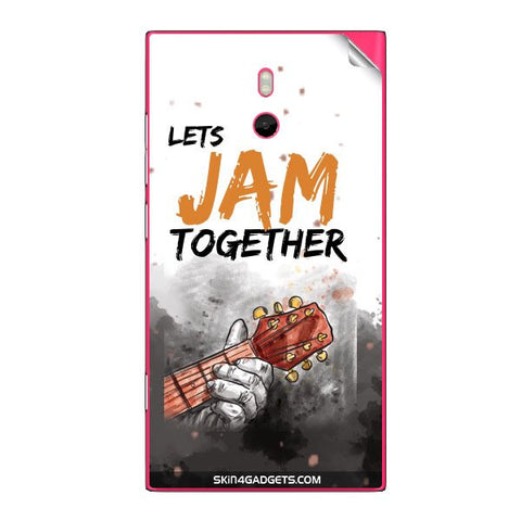 Lets Jam Together For NOKIA LUMIA 800 Skin