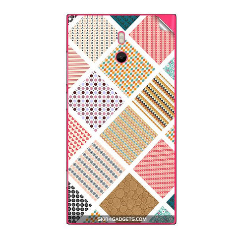 Varied Pattern For NOKIA LUMIA 800 Skin