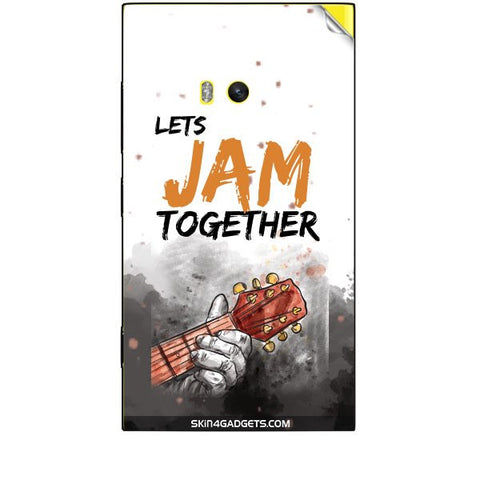 Lets Jam Together For NOKIA LUMIA 920 Skin