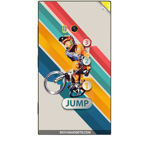 1 2 3 Jump For NOKIA LUMIA 920 Skin