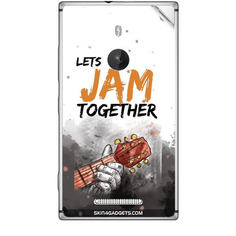 Lets Jam Together For NOKIA LUMIA 925 Skin