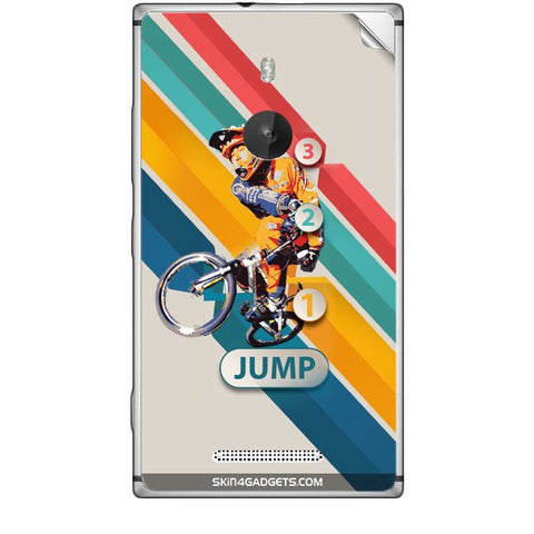 1 2 3 Jump For NOKIA LUMIA 925 Skin