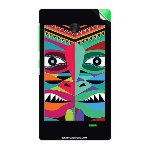 Tribal Face For NOKIA X Skin