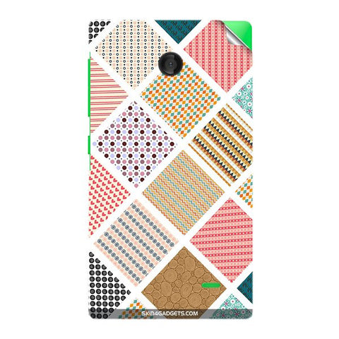 Varied Pattern For NOKIA X Skin