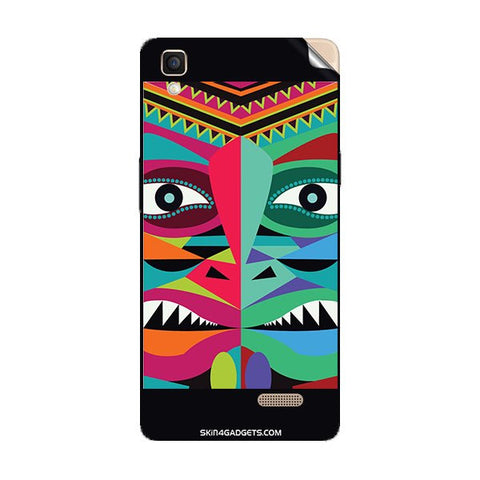 Tribal Face For OPPO R7 LITE Skin