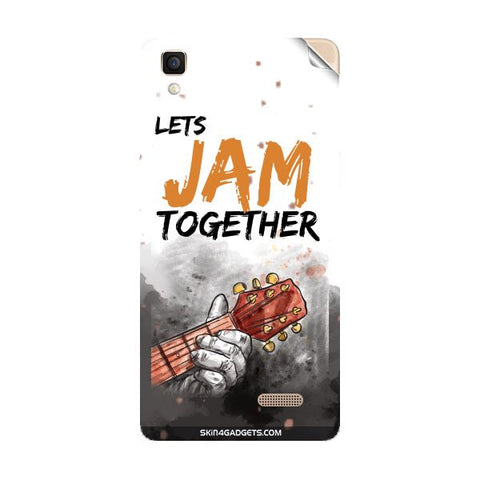 Lets Jam Together For OPPO R7 LITE Skin