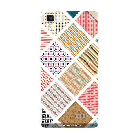 Varied Pattern For OPPO R7 LITE Skin