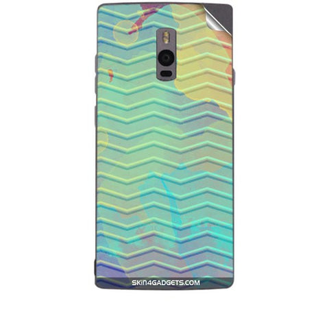 Colourful Waves For ONE PLUS TWO Skin