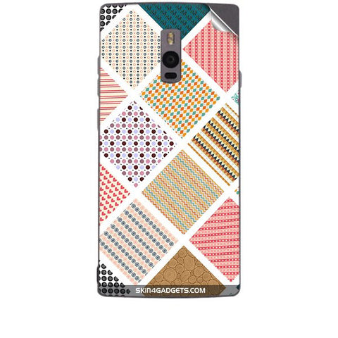 Varied Pattern For ONE PLUS TWO Skin