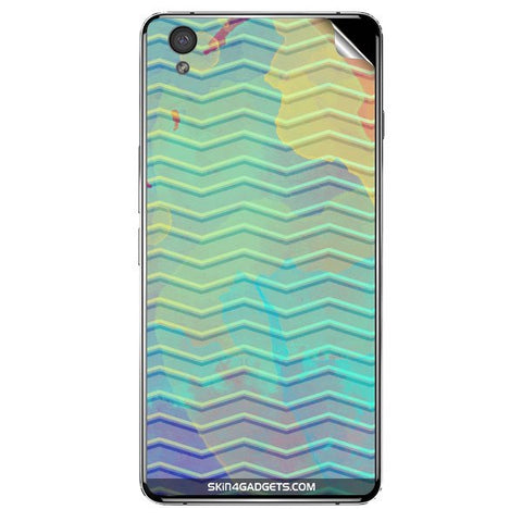 Colourful Waves For ONE PLUS X Skin