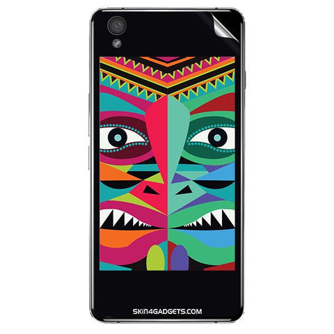 Tribal Face For ONE PLUS X Skin