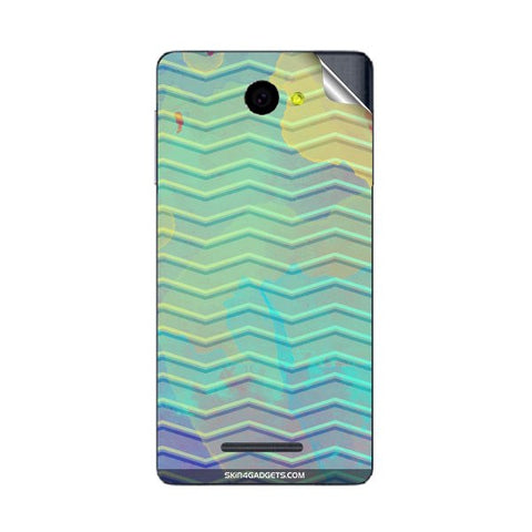 Colourful Waves For PANASONIC P55 Skin