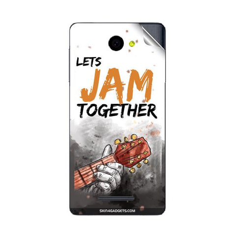 Lets Jam Together For PANASONIC P55 Skin