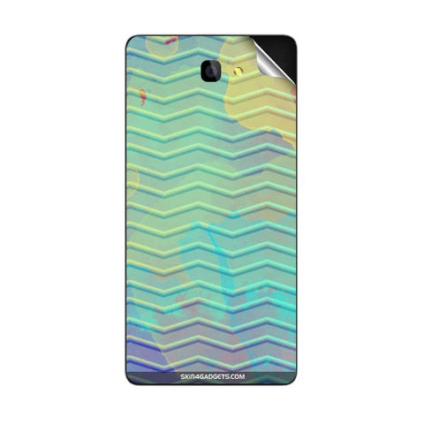 Colourful Waves For PANASONIC P81 Skin