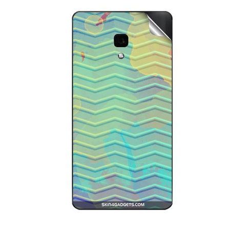 Colourful Waves For PANASONIC T40 Skin