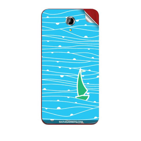 Boat Pattern For PANASONIC T41 Skin
