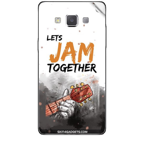 Lets Jam Together For SAMSUNG GALAXY A5 (A5000) Skin