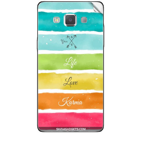 Lets Love Life For SAMSUNG GALAXY A5 (A5000) Skin