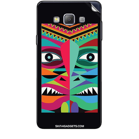 Tribal Face For SAMSUNG GALAXY A7 (A700) Skin