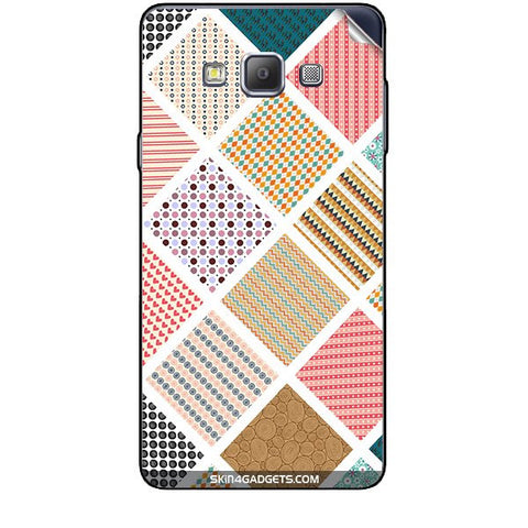 Varied Pattern For SAMSUNG GALAXY A7 (A700) Skin