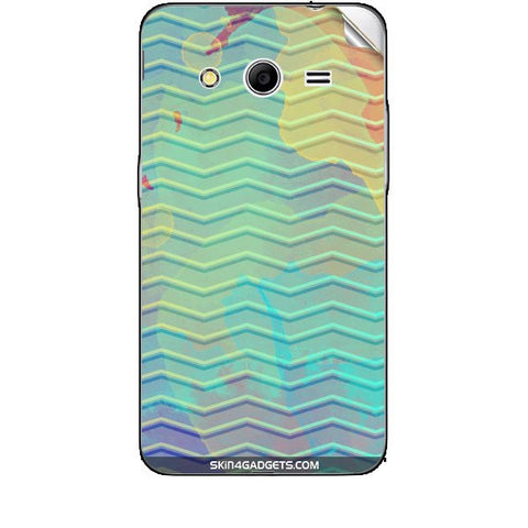 Colourful Waves For SAMSUNG GALAXY CORE 2 (G3556d) Skin