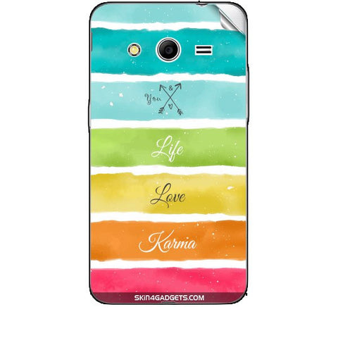 Lets Love Life For SAMSUNG GALAXY CORE 2 (G3556d) Skin