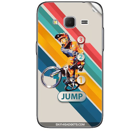 1 2 3 Jump For SAMSUNG GALAXY CORE PRIME ( G3608) Skin