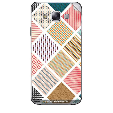 Varied Pattern For SAMSUNG GALAXY E5 (E500 ) Skin