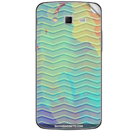 Colourful Waves For SAMSUNG GALAXY GRAND 2 ( G7106) Skin
