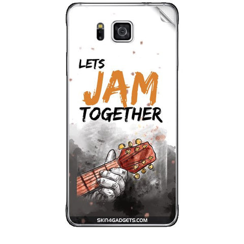 Lets Jam Together For SAMSUNG GALAXY ALPHA (G850) Skin