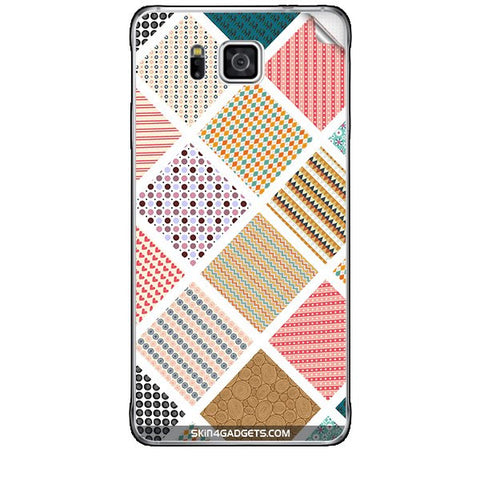 Varied Pattern For SAMSUNG GALAXY ALPHA (G850) Skin
