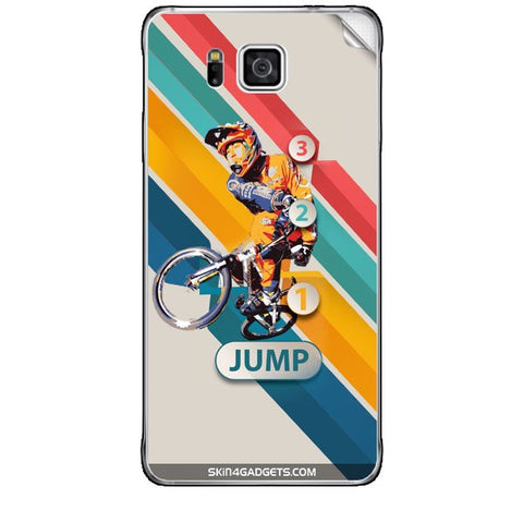 1 2 3 Jump For SAMSUNG GALAXY ALPHA (G850) Skin