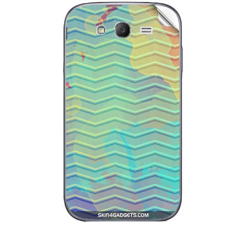 Colourful Waves For SAMSUNG GALAXY GRAND (I9082) Skin