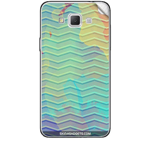 Colourful Waves For SAMSUNG GALAXY GRAND MAX (G720) Skin
