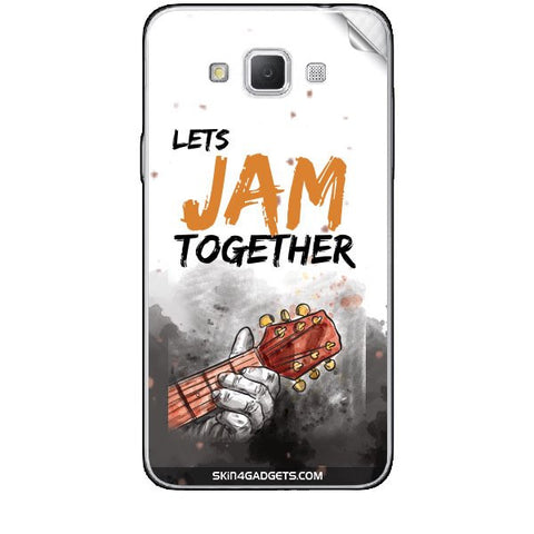 Lets Jam Together For SAMSUNG GALAXY GRAND MAX (G720) Skin