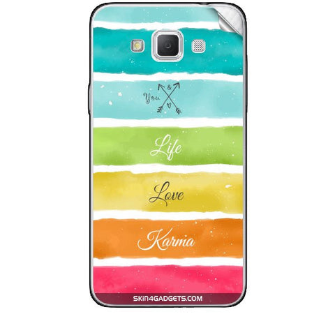 Lets Love Life For SAMSUNG GALAXY GRAND MAX (G720) Skin