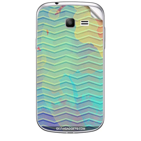Colourful Waves For SAMSUNG GALAXY TREND (S7392) Skin