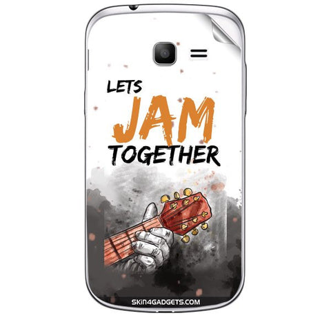 Lets Jam Together For SAMSUNG GALAXY TREND (S7392) Skin