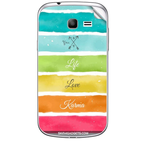 Lets Love Life For SAMSUNG GALAXY TREND (S7392) Skin