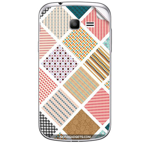 Varied Pattern For SAMSUNG GALAXY TREND (S7392) Skin