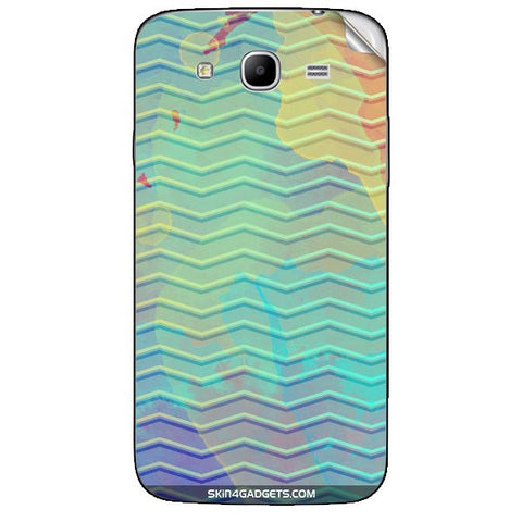 Colourful Waves For SAMSUNG GALAXY MEGA 5.8 (I9150) Skin