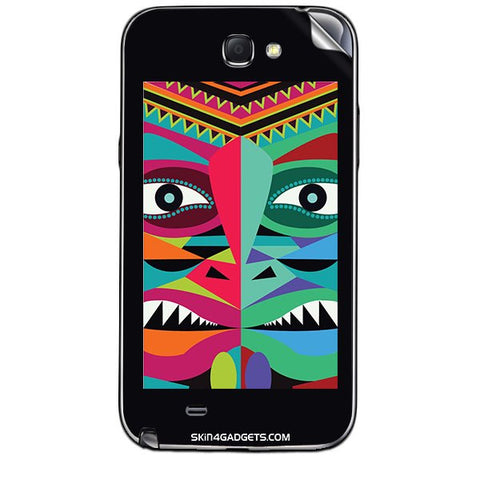 Tribal Face For SAMSUNG GALAXY NOTE 2 (N7100) Skin