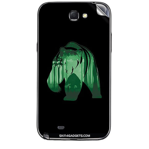 Bear For SAMSUNG GALAXY NOTE 2 (N7100) Skin