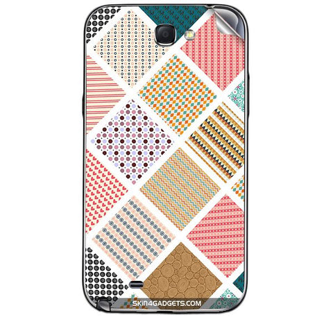 Varied Pattern For SAMSUNG GALAXY NOTE 2 (N7100) Skin