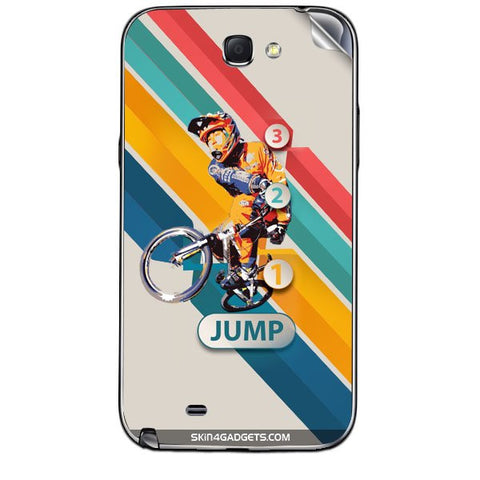 1 2 3 Jump For SAMSUNG GALAXY NOTE 2 (N7100) Skin